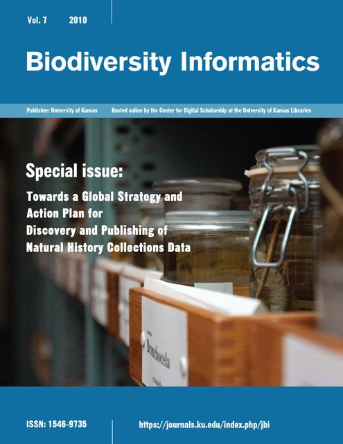 Biodiversity Informatics Vol. 7 2010